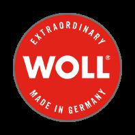 Woll padella bassa pesante in Titanium Nowo fondo induzione manico estraibile